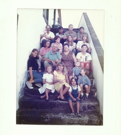 The family at Bom Despacho in 1990